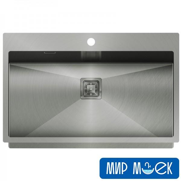 Кухонная мойка из нержавеющей стали Aquasanita Aira AIR100M-T 790x510x200