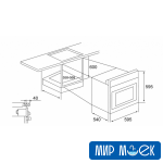 Духовой шкаф в дизайне HighTech Fabiano FBO 24 Lux Black