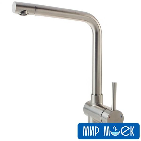 Смеситель для мойки Fabiano FKM-45 S/Steel Inox