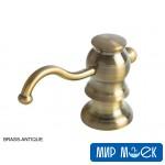 Дозатор для жидкого мыла Fabiano FAS-D 30 Brass-Antique
