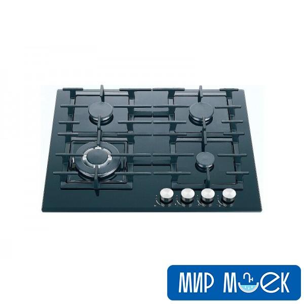 Варочная газовая поверхность Fabiano FHG 1444 VGHT Black Glass