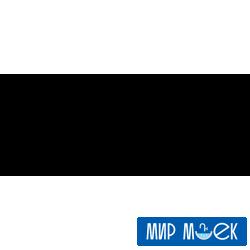 Гранитная мойка с универсальным монтажом Fabiano Quadro 45*40 Alpine White